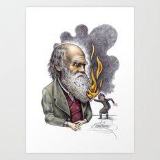 Darwin Art Print