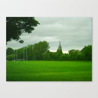 Rugbyfield Canvas Print