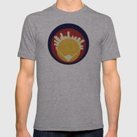 Eolus / Denver / Colorado Mens Fitted Tee Athletic Grey SMALL