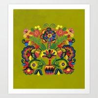 Ornament_1 Art Print