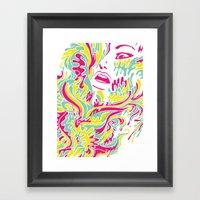 Eyegasmic Framed Art Print