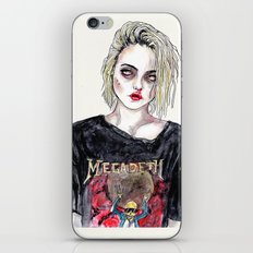 SKY FERREIRA NO,17 iPhone & iPod Skin