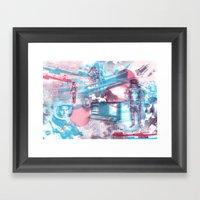 SPACE :::  Framed Art Print