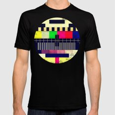ERROR Mens Fitted Tee Black SMALL