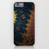 iPhone & iPod Case featuring Fractal Abstract  by Elaine C Manley