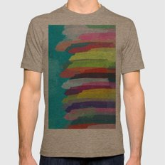 Pattern 14 Mens Fitted Tee Tri-Coffee SMALL