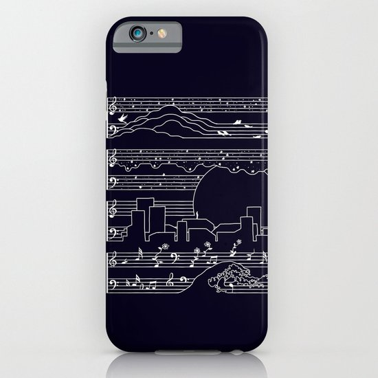 The Moonlight Sonata iPhone & iPod Case