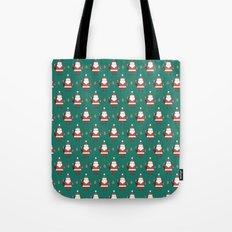 Day 10/25 Advent - Folding Santa Tote Bag