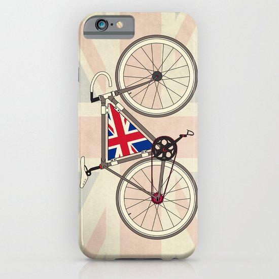 Love Bike, Love Britain iPhone & iPod Case