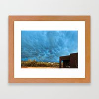 Out Here On The Perimete… Framed Art Print