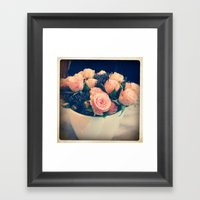 Roses Framed Art Print