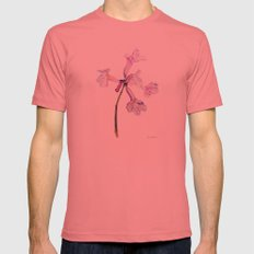 Flowers of the tree *Handroanthus sp* Mens Fitted Tee Pomegranate SMALL
