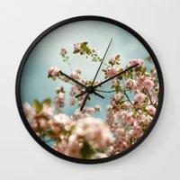 Saturday Sky #3 Wall Clock