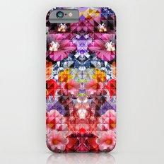 Crystal Floral iPhone 6 Slim Case