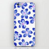 Posey Power - Ink Blue Multi iPhone & iPod Skin