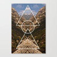 Hidden meaning Canvas Print