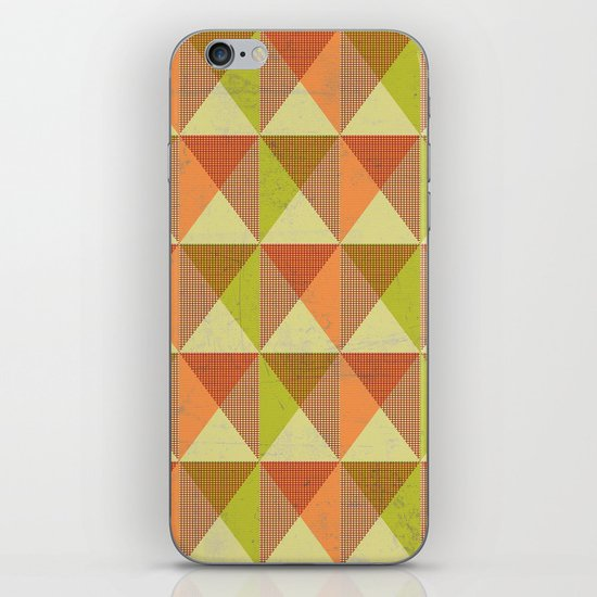 Triangle Diamond Grid iPhone & iPod Skin