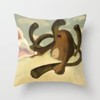 Sky Creature Throw Pillow