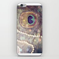Feathers & Pearls iPhone & iPod Skin