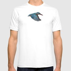 Terror From Above SMALL White Mens Fitted Tee