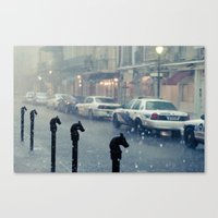 Let's get a silver bullet trailer and have a baby boy Canvas Print