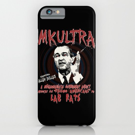 MKULTRA iPhone & iPod Case