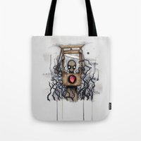 Guillotine Heart Tote Bag
