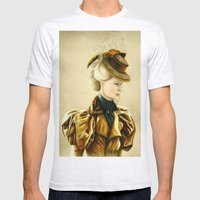 Edith Cushing Mens Fitted Tee Ash Grey SMALL