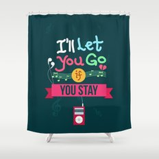 IF I STAY: I'll Let You Go Shower Curtain