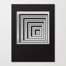 Cubes - Optical Game 9 Canvas Print