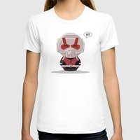 ChibizPop: Ant Womens Fitted Tee White SMALL