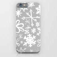 Snowflake Concrete iPhone 6 Slim Case