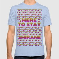 Shirane - Here to Stay (Forever TLV) Mens Fitted Tee Athletic Blue SMALL