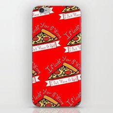 True Love  |  Pizza iPhone & iPod Skin