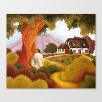 Pathway To Home Canvas Print