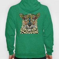 Leopard Queen Blue Hoody