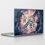 Splashing In 8Bit Laptop & iPad Skin
