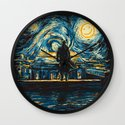Starry Fall (Sherlock) Wall Clock