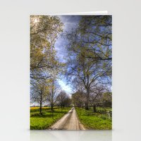 The Summer Farm Track Stationery Cards
