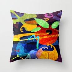 Elements I - Dream Toys Throw Pillow