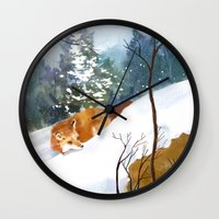 Which Way Did He Go? Wall Clock