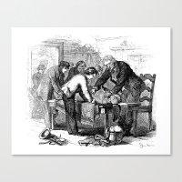 Dr. Crowley's Experiment… Canvas Print