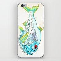 Hatchet Fish iPhone & iPod Skin