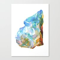 Raw Opal Canvas Print