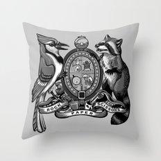Regular Crest Throw Pillow