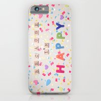 iPhone & iPod Case featuring Because I'm Happy by RichCaspian