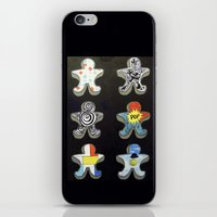 Cookie cutters (post modern) iPhone & iPod Skin