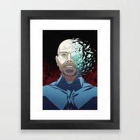 Ozymandias (Walter White… Framed Art Print
