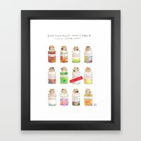 Emotionally Available Framed Art Print