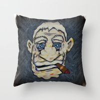 Stogey Throw Pillow